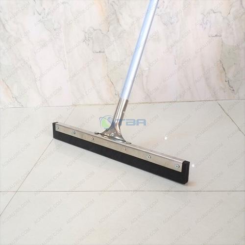 Cây đẩy nước gạt sàn kẹp inox lưỡi cao su cán hợp kim nhôm chất lượng cao cấp